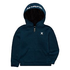 Boys 8-20 Hurley Full-Zip Fleece Hoodie