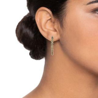 Simply Vera Vera Wang Filigree Hoop Earrings
