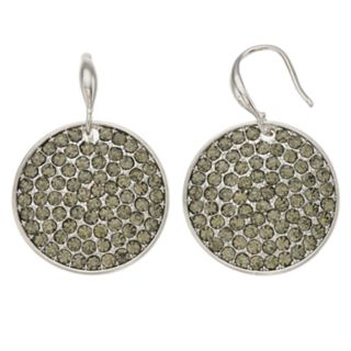 Simply Vera Vera Wang Simulated Stone Disc Drop Earrings