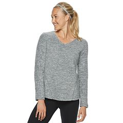 Women's Tek Gear® Long Sleeve Microfleece Top