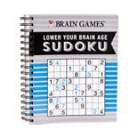 Lower Your Brain Age Sudoku Book by Publications International, Ltd.