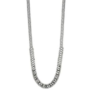 Simply Vera Vera Wang Simulated Crystal & Chain Long Necklace