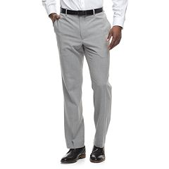 Big & Tall Apt. 9® Slim-Fit Premier Flex Crosshatch Dress Pants