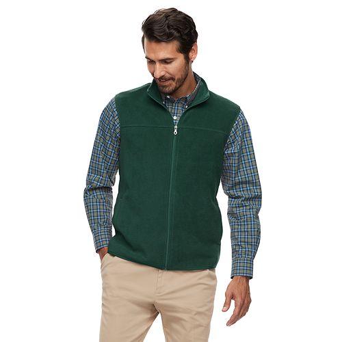 Men's Croft & Barrow® Arctic Fleece Classic-Fit Easy-Care Vest