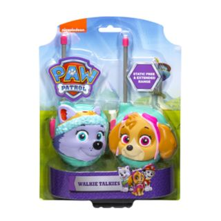 Paw Patrol Walkie Talkies Skye and Everest Set