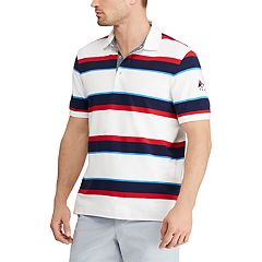 Men's Chaps Classic-Fit Striped Americana Polo