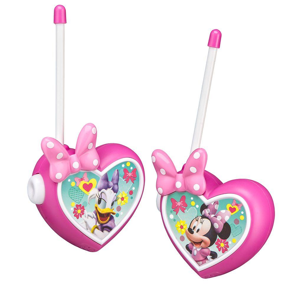 Disney's Minnie Mouse Walkie Talkies Set by Kid Designs