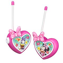 Disney's Minnie Mouse Walkie Talkies Set by Kid Designs