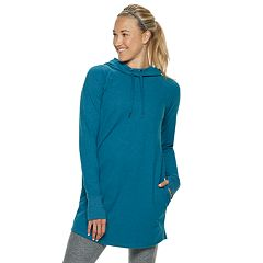 Women's Tek Gear® Hooded Cowlneck Tunic