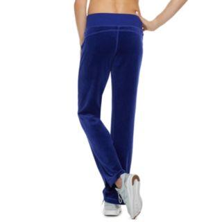 Women's Tek Gear® Velour Mid-Rise Sweatpants