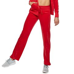 Women's Tek Gear® Velour Mid-Rise Sweatpants