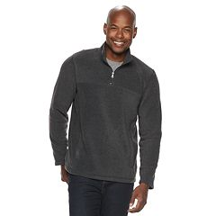 Men's Croft & Barrow® Arctic Fleece Classic-Fit Easy-Care Quarter-Zip Pullover