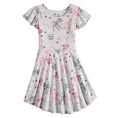 Disney's Bambi Girls 4-7 Flutter Dress by Disney/Jumping Beans®