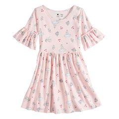 Disney's Alice in Wonderland Toddler Girl Ruffle Sleeve Dress by Disney/Jumping Beans®