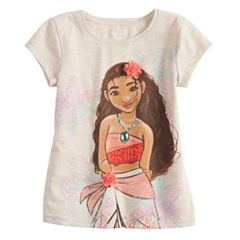 Disney's Moana Toddler Girl Glittery Graphic Tee by Jumping Beans®