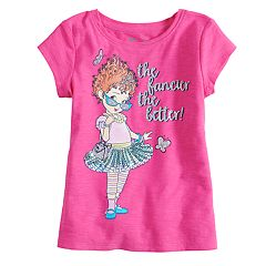 Disney's Fancy Nancy Girls 4-10 Short-Sleeve Glittery Graphic Tee by Jumping Beans®