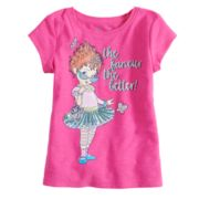 Disney's Fancy Nancy Toddler Girl Short-Sleeve Glittery Graphic Tee by Jumping Beans®