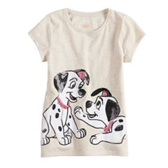 Disney's 101 Dalmatians Toddler Girl Short-Sleeve Sequined Graphic Tee by Jumping Beans®