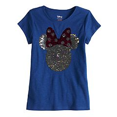 Disney's Minnie Mouse Girls 4-10 'Hi' Flip-Sequin Short-Sleeve Graphic Tee by Jumping Beans®
