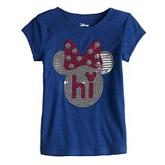Disney's Minnie Mouse Toddler Girl 'Hi' Sequin Tee by Jumping Beans®