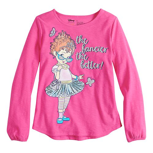 eb00c814 Disney's Fancy Nancy Girls 4-10 Long-Sleeve Glittery Graphic Tee by ...