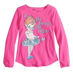 Disney's Fancy Nancy Toddler Girl Long-Sleeve Glittery Graphic Tee by Jumping Beans®