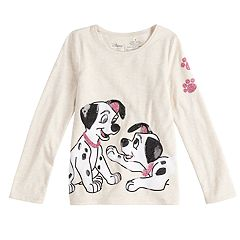 Disney's 101 Dalmatians Girls 4-10 Long-Sleeve Sequined Graphic Tee by Jumping Beans®