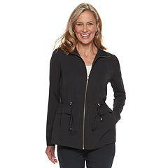 Women's Dana Buchman Zip Front Anorak Jacket