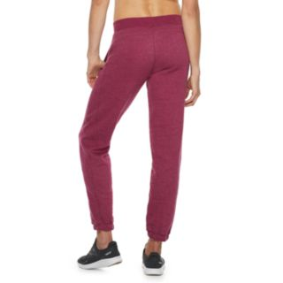 Women's Tek Gear® Ultrasoft Fleece Banded-Bottom Mid-Rise Sweatpants