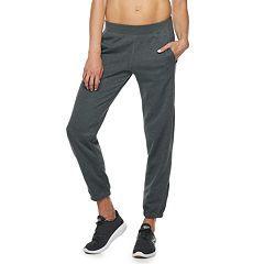 Women's Tek Gear® Fleece Banded Bottom Mid-Rise Sweatpants