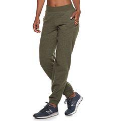 Women's Tek Gear® Fleece Banded Bottom Mid-Rise Sweatpants
