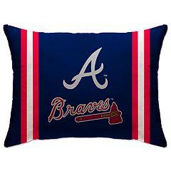 Atlanta Braves 26-Inch Throw Pillow