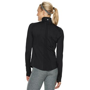 Women's Tek Gear® Performance Thumb Hole Full Zip Jacket