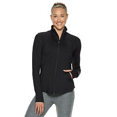 Women's Tek Gear® Performance Thumb Hole Full Zip Jacket