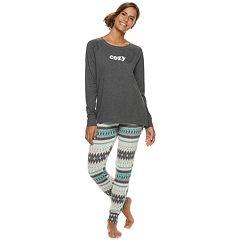 Women's SONOMA Goods for Life™ Graphic Tee & Jogger Pajama Set