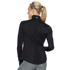Women's Tek Gear® Performance Thumb Hole 1/4-Zip Jacket