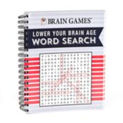 Lower Your Brain Age Word Search Book by Publications International, Ltd.