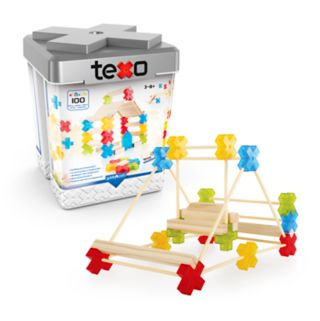Guidecraft Texos 100-Piece Set