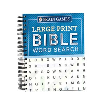 Large Print Bible Word Search Book by Publications International, Ltd.