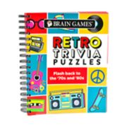 Retro Trivia Puzzles Book by Publications International, Ltd.