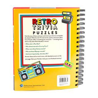 Retro Trivia Puzzles Book by Publications International, Ltd.