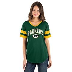 Women's New Era Green Bay Packers Jersey Tee