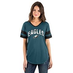 Women's New Era Philadelphia Eagles Jersey Tee
