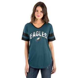 Women's New Era Philadelphia Eagles Jersey Tee