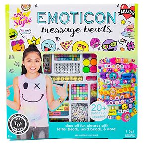 Just My Style Emoticon Message Beads Set