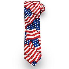 Men's Patriotic Americana Tie