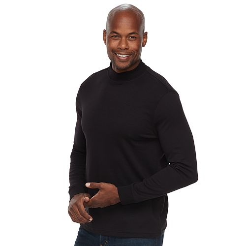 Men's Croft & Barrow® Classic-Fit Easy-Care Mockneck Pullover