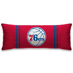 Philadelphia 76ers 48-Inch Throw Pillow