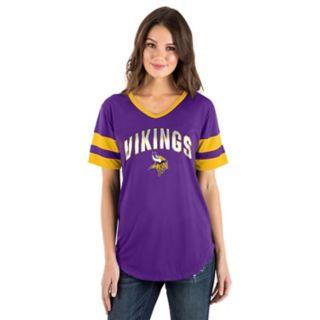 Women's New Era Minnesota Vikings Jersey Tee