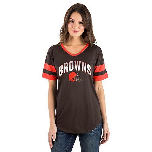 Women's New Era Cleveland Browns Jersey Tee